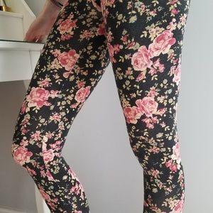 Pants - Floral leggings